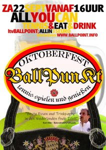 All You Can - Oktoberfest Editie @ Ballpoint | Zoeterwoude | Zuid-Holland | Nederland